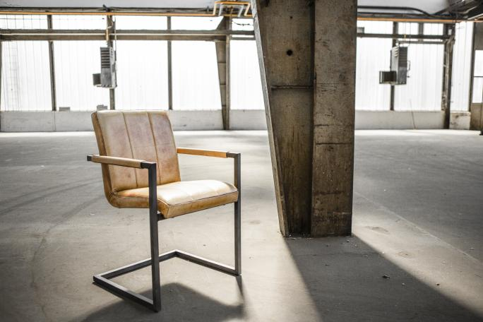 Industrial style meets Scandi